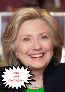 hillary with electrolytes